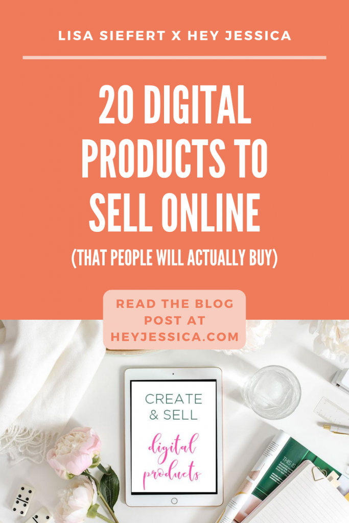 20 Digital Products to Sell Online