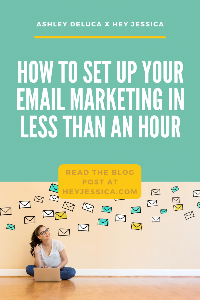 How to set up your email marketing in less than an hour