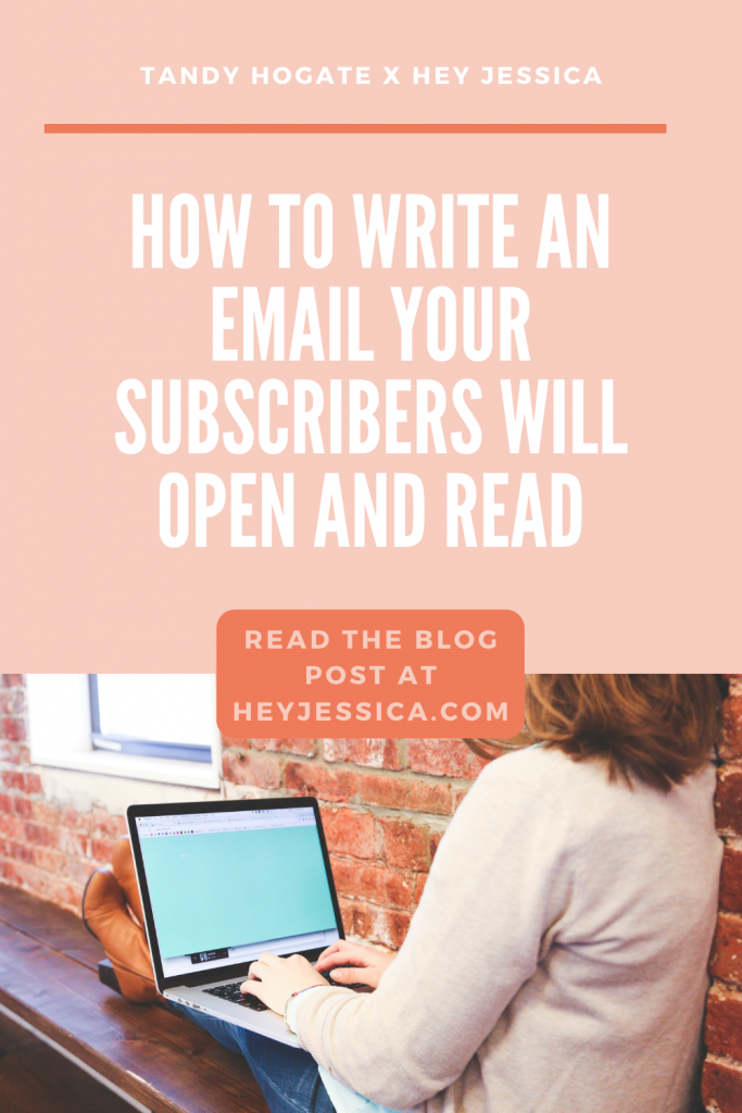 How to write an email your subscribers will open and read