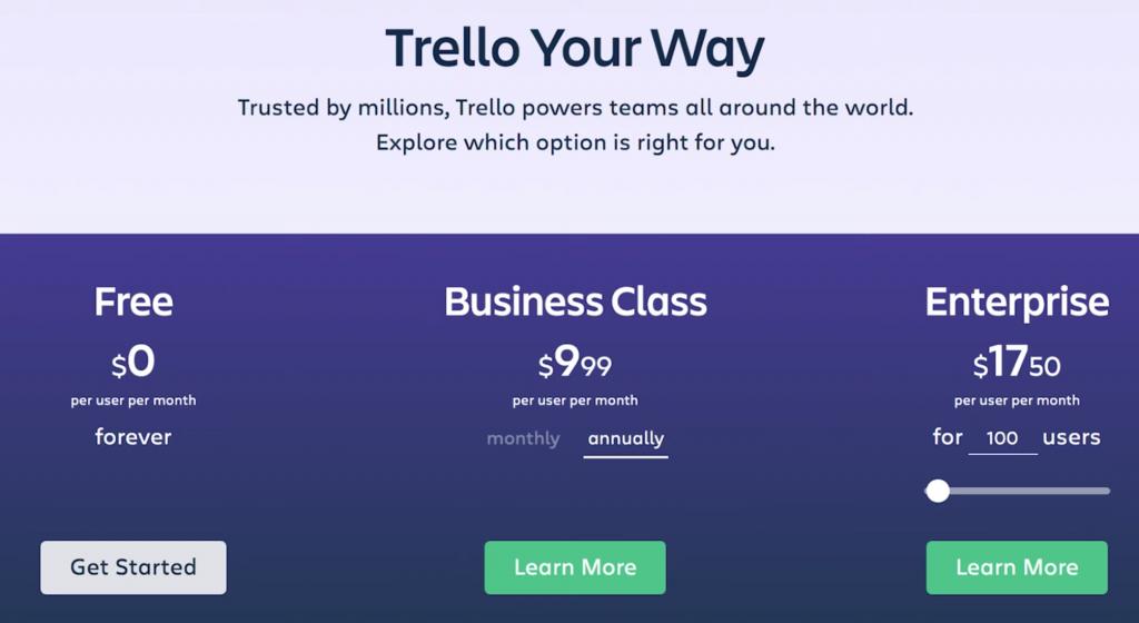 Trello vs ClickUp