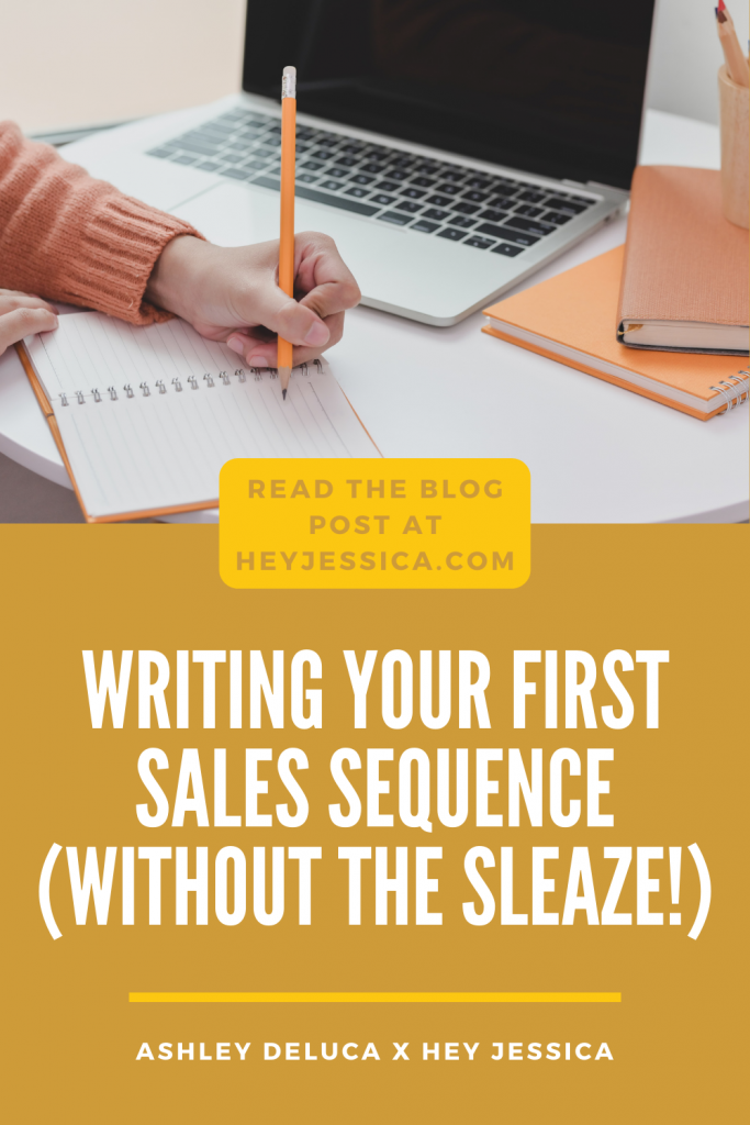 Writing your first sales sequence without the sleaze