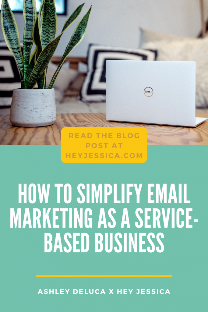 How to simplify email marketing as a service-based business