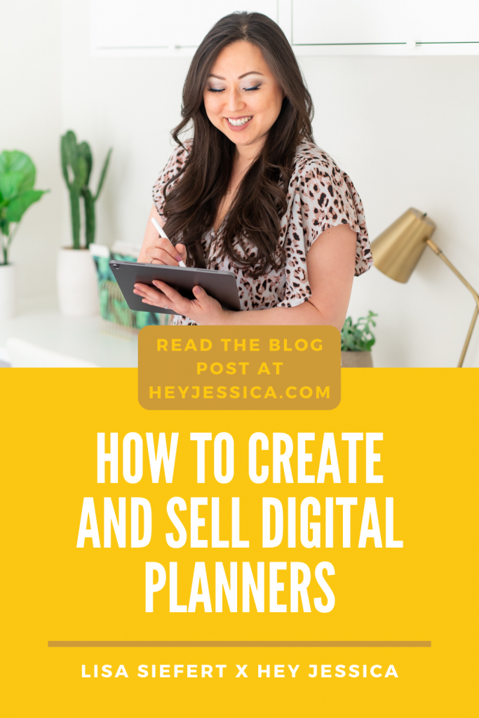 How to create and sell Digital Planners