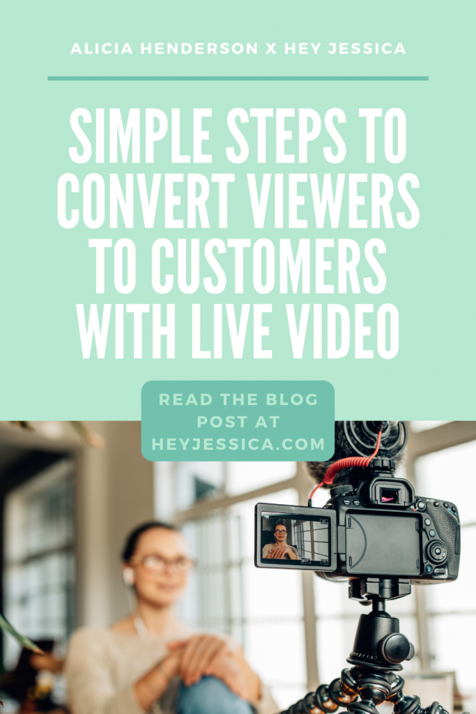convert viewers to customers with live video