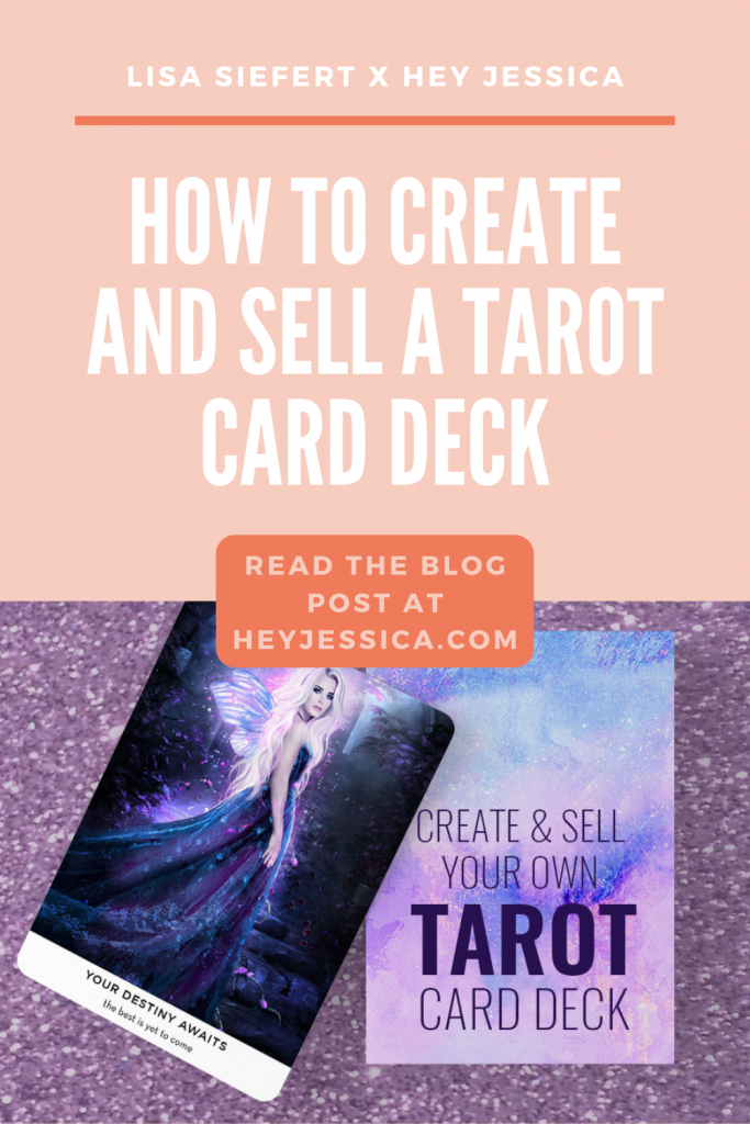 How to create and sell a tarot card deck
