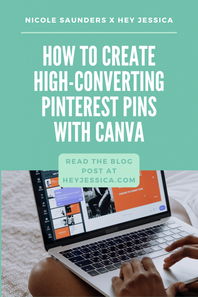 create high-converting Pinterest pins with Canva