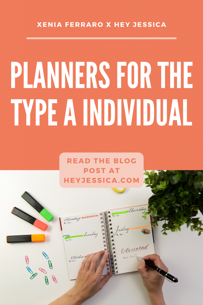 Planners for the Type A Individual