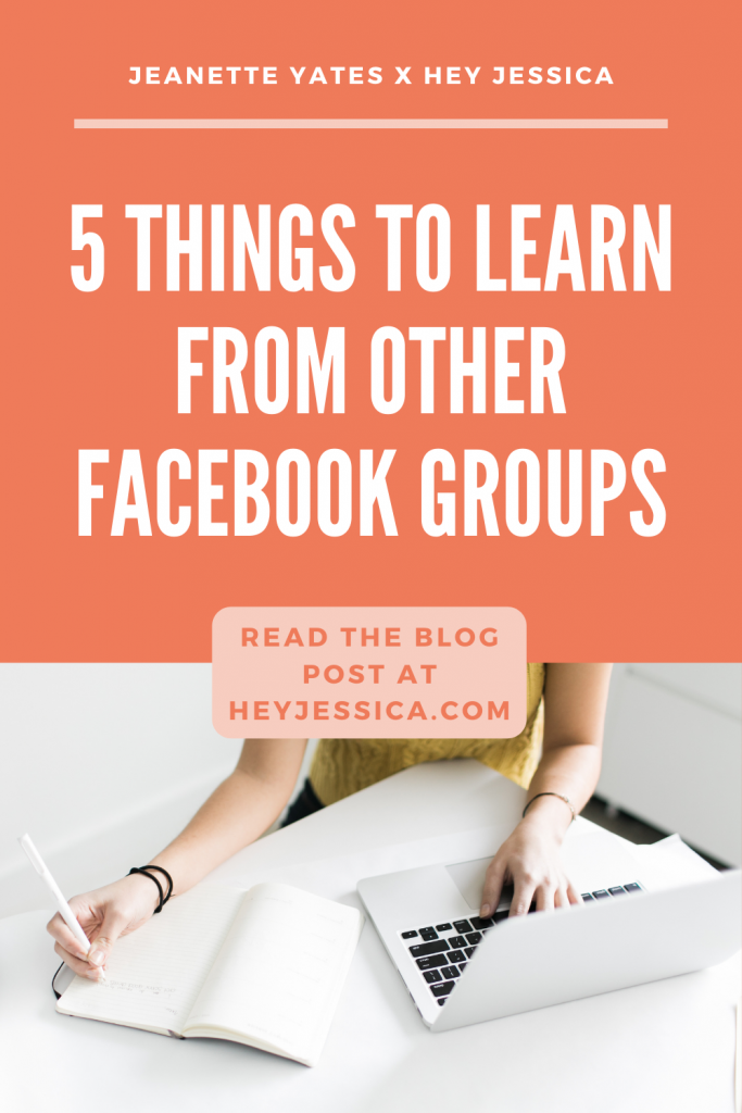 5 things to learn from other Facebook groups