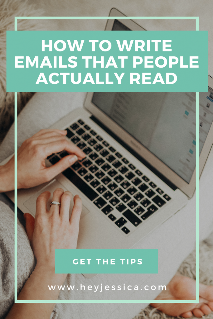 How to write emails that people actually read