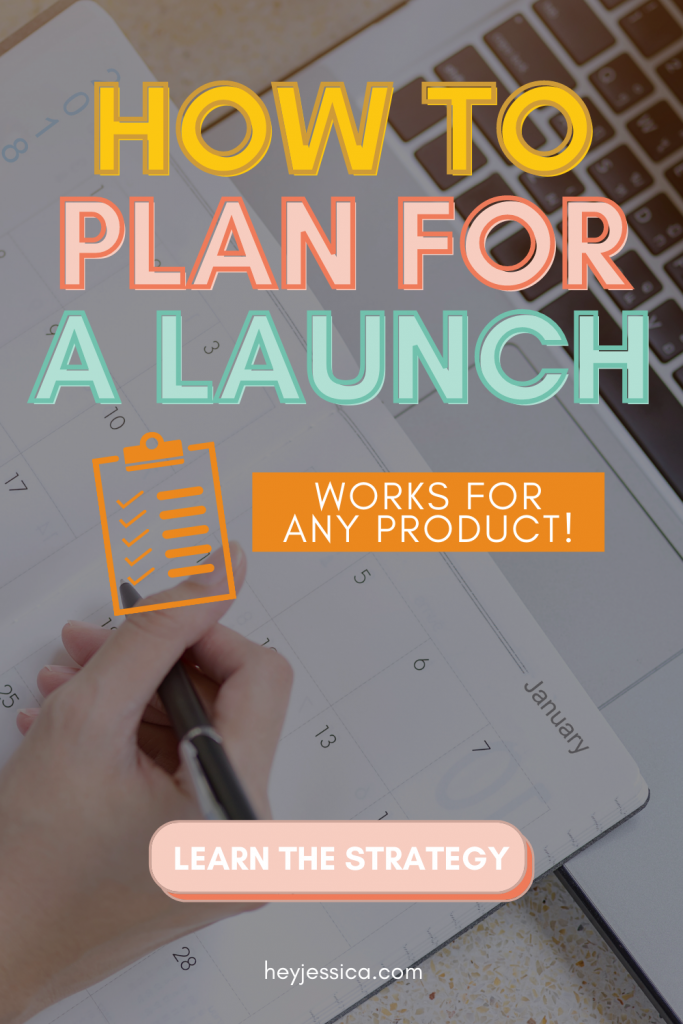 how to plan for a course launch