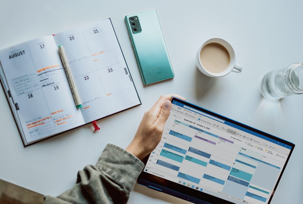 How I organize my calendar