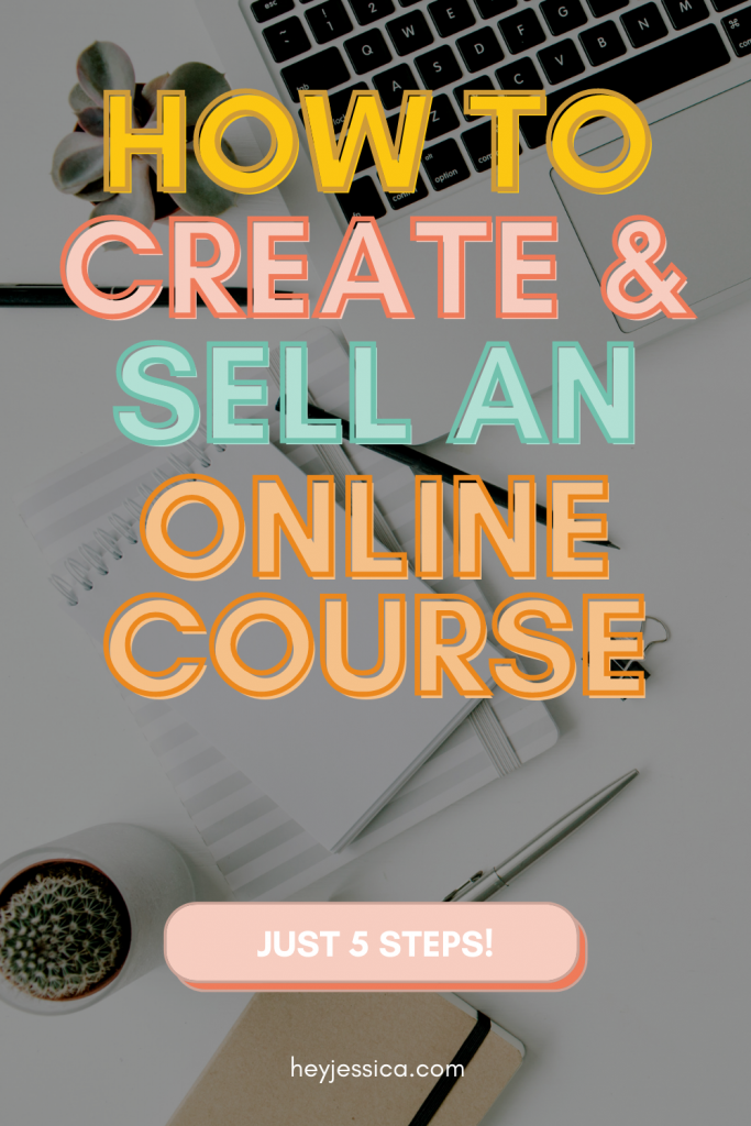 How to create and sell an online course