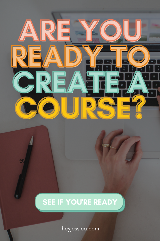 are you ready to create a course?