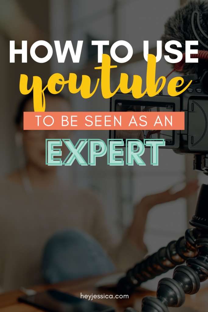 How I use YouTube to be seen as an expert