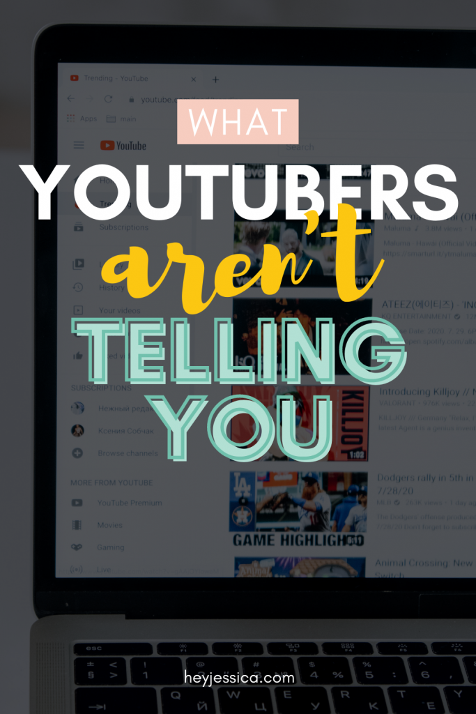 What YouTubers aren't telling you