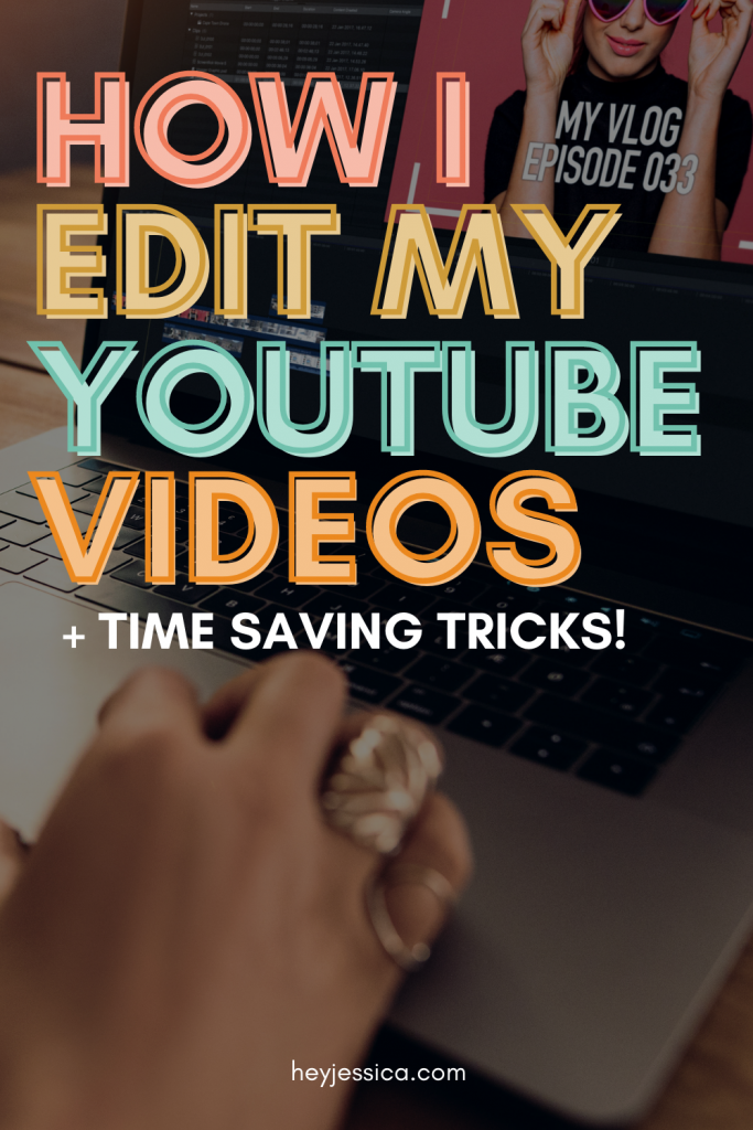 How I edit my youtube videos